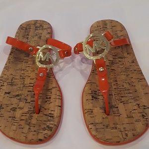 Michael Kors jelly sandals, size 7